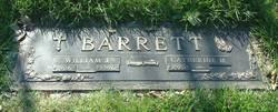 William J Barrett, Sr