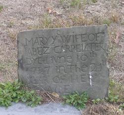 Mary <i>Hunt</i> Carpenter
