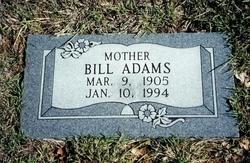Bill <i>MARR</i> Adams