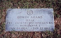 Pvt Edwin Adams