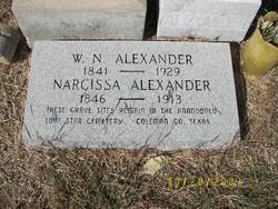 Narcissa C. Alexander