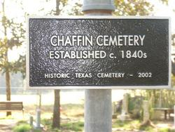 Chaffin Cemetery
