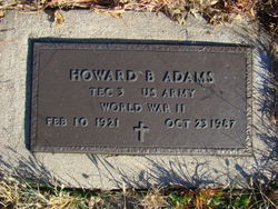 Howard Benton Adams, Sr