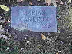 Marian <i>Cameron</i> Watts