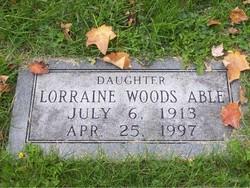 Lorraine <i>Woods</i> Able