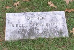 Birdie Larene Bynum