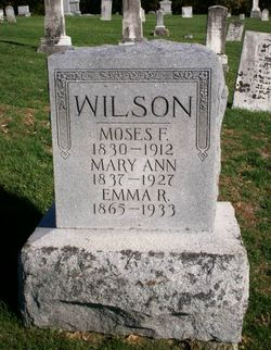 Moses Fountain Wilson