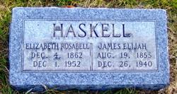 Elizabeth Rosabell <i>Curtis</i> Haskell
