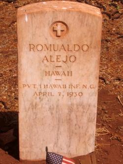 Pvt Romualdo Alejo