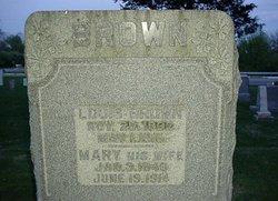 Mary <i>Groschaus</i> Brown