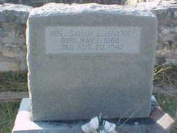 Sarah Elizabeth <i>Gould</i> Haynes