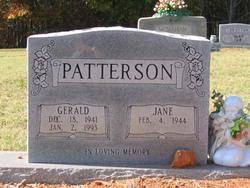 Carolyn Jane <i>Greenhaw</i> Patterson