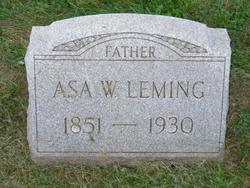 Asa W Leming