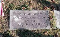 Capt Zebediah Dewey