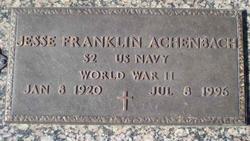 Jesse Franklin Achenbach