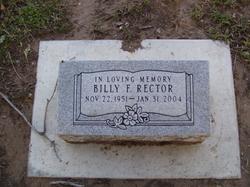 Billy F. Rector