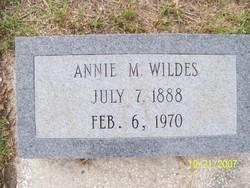 Annie M. Wildes
