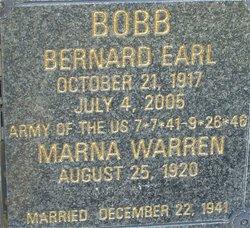 Dr Bernard Earl Bill Bobb