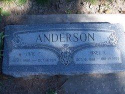 Jane Elizabeth <i>Fisher</i> Anderson