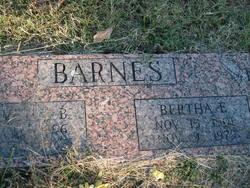Bertha Ellen <i>Fouts</i> Barnes