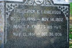 Frederick K Lamerson