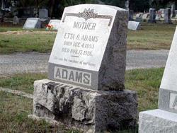 Etta Ophelia <i>Stacy</i> Adams