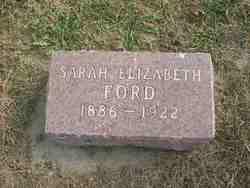 Sarah Elizabeth <i>Morgan</i> Ford