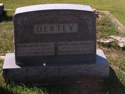 Mary Ada Oertly