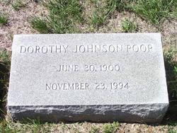 Dorothy <i>Johnson</i> Poor