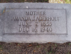 Amanda James Madison <i>Jones</i> Aderholt