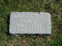 Isabelle Ann <i>Cain</i> Cowley