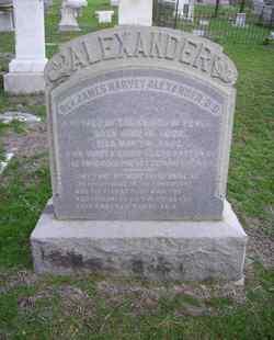 Rev James Harvey Alexander