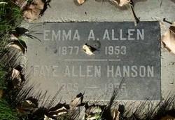 Emma Agnes <i>Schroll</i> Allen