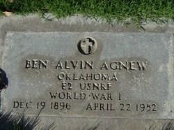 Ben Alvin Agnew