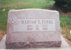 Mariam E. <i>Cooley</i> Funke