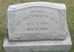Ada <i>Whitworth</i> Buntin