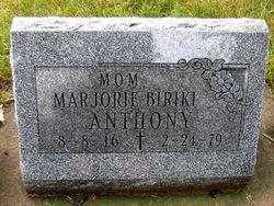 Marjorie <i>Biriki</i> Anthony