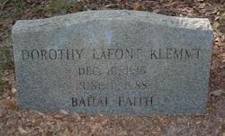 Dorothy <i>Lafont</i> Klemmt