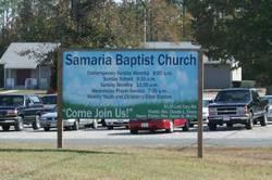 Samaria Baptist Church Cemetery