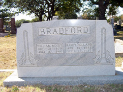 Nancy Holland <i>Henderson</i> Bradford