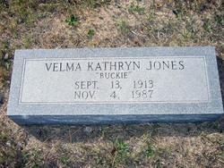 Velma Kathryn Buck Jones