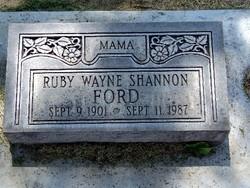 Ruby Wayne Ford