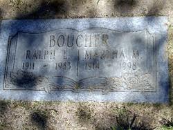 Martha M Boucher