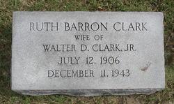 Ruth <i>Barron</i> Clark