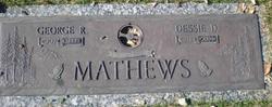 Dessie D <i>Burnett</i> Mathews