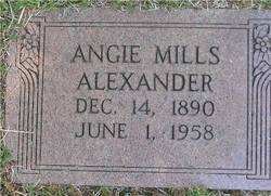 Angelina (Angie) Clarissa <i>Mills</i> Alexander