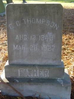 Christopher Clarence Thompson
