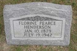 Florine <i>Pearce</i> Henderson