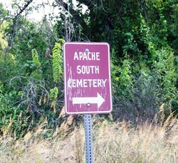 Apache South Cemetery