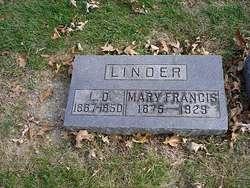 Mary Francis <i>Mathis</i> Linder